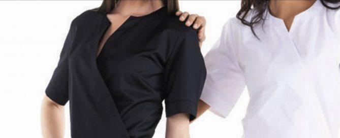 blouse d'esthéticienne